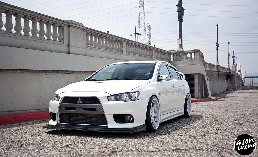 Mitsubishi Evo X Custom Paint
