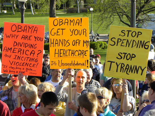 Tea Party tax day protest 2010 | by Fibonacci Blue