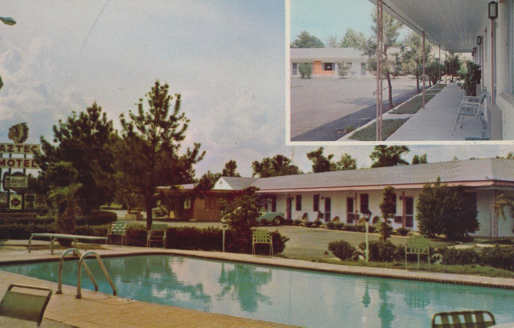 Aztec Motel and Restaurant - Orangeburg, South Carolina