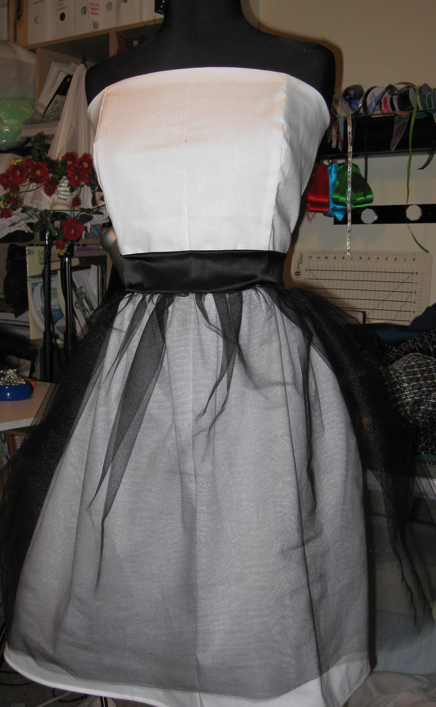 Strapless Size 28 Prom Dress Front See My Entire Photostre Flickr