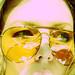 Huge Gucci Aviator Sunglasses+70's-2
