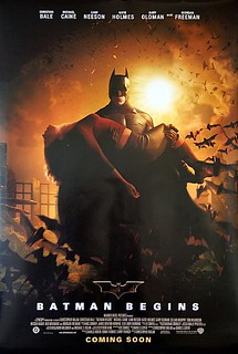 Batman Begins  Original 2005 Advance One Sheet Movie Poster - Style B | by Vintage Movie Posters