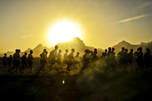 Sunrise run | by The U.S. Army