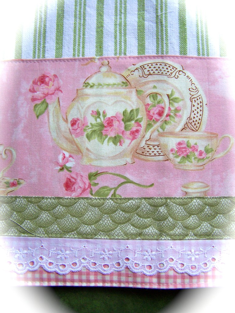 ... Simply Shabby Chic Tea Towel. | By Www.cathandbec.com