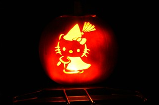 Hello Kitty Witch Pumpkin | by spencer77