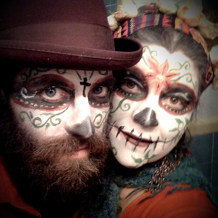 Dia de los muertos jamie mcalpin flickr for 1 day paint