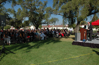 CSUCI President Richard R. Rush speaking at groundbreaking Ceremonies for John Spoor Broome Library | by California State University Channel Islands