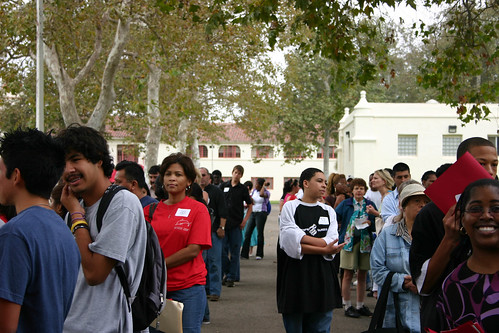 Future students and their families attending Destination College event | by California State University Channel Islands