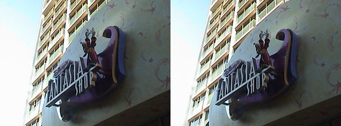 3D, Sign, Disney's Fantasia Shop, Magic Tower, Disneyland Hotel, Anaheim, California, 2010.10.30 17:29 | by Dr. Disney Wizard