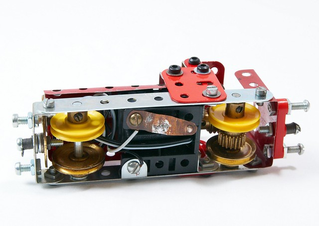 Meccano Narrow Gauge Locomotive With Electric Motor By Philip Webb Flickr Photo Sharing