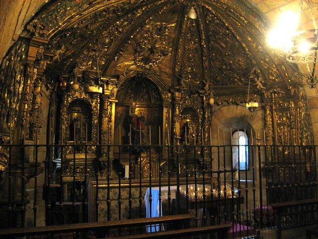 Virgen de la Soterraña, Basílica de San Vicente, Ávila ...