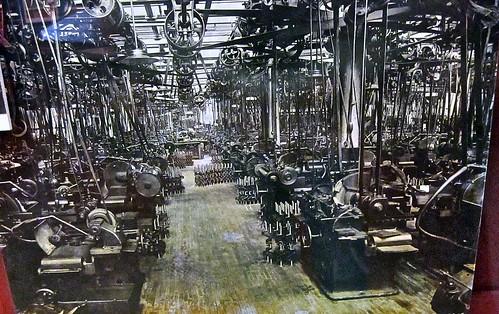 automobile machine shop