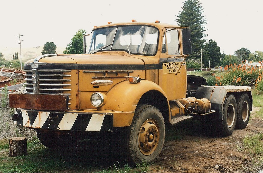 Hino Tractor Shot In New Zealand A Tough Looking Hino