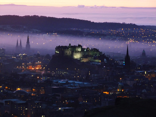 Hazy Twilight over Edinburgh | by SMHutch Photography