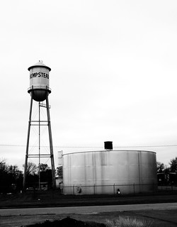 Water Tower, Hempstead, Texas 0130101207BW | by Patrick Feller