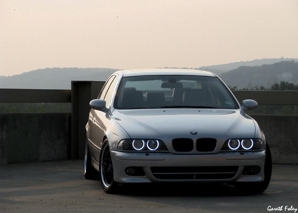 BMW E39 Angel Eyes   Photo taken at the Danbury Fair Mall ...