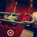 baby and Trey at Target