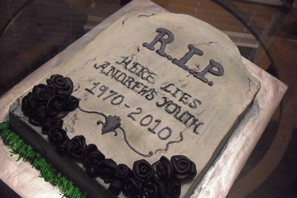 Rip Birthday Cake Cakesbymelanie Flickr