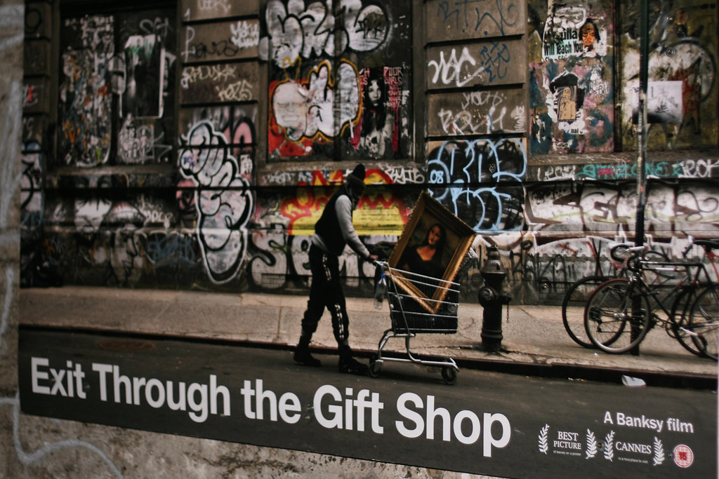 Banksy Exit Through The Gift Shop Poster Banksy S Film
