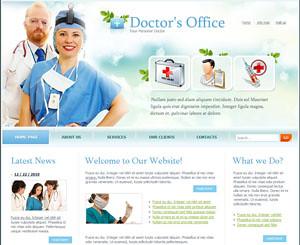 doctor medical office website design flash template design flickr