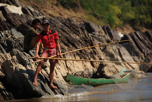 Pole Fishing on The Mekong | by The Hungry Cyclist