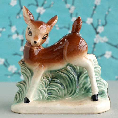 Vintage Deer Planter | by plaidponyvintage