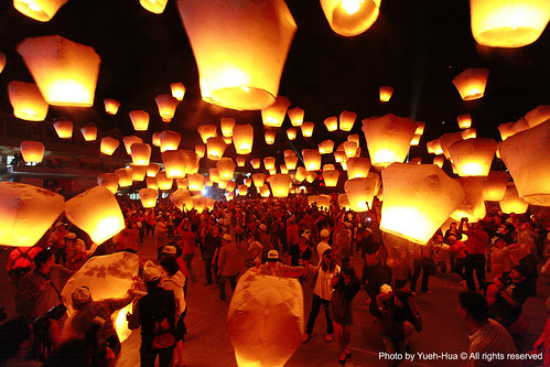 Pingxi Sky Lantern Festival 2010, Taipei County │ March 06, 2010 | by *Yueh-Hua 2017