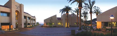 Pepperdine University S Drescher Graduate Campus In Malibu