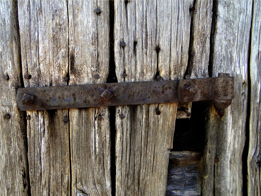 Barn Door Wrought Iron Strap Hinge Paul Flickr