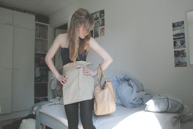 paperbag waist