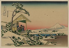 [Teahouse at Koishikawa the morning after a snowfall] (LOC) | by The Library of Congress