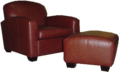 The Most Comfortable Club Chair Ottoman Cassidy 39 S
