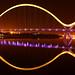 Middlesbrough Infinity Bridge Night Shot