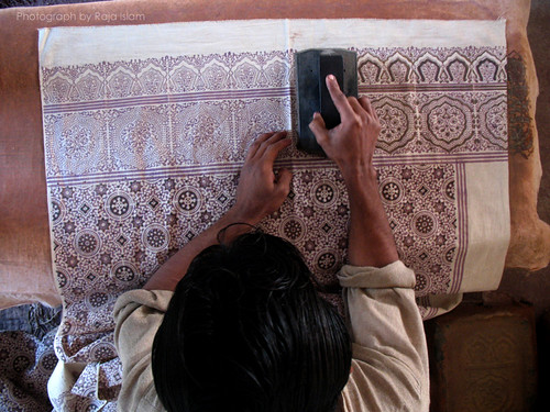 Ajrak Making | by Raja Islam