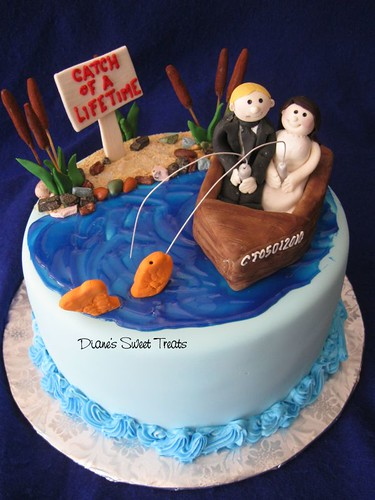 Groom S Cake Fishing Diane Burke Flickr