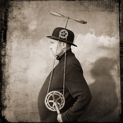 Victor Zobulovich , the inventor of the flying hat | by yves.lecoq