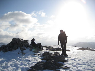 Summit of Beinn Damh | by dringer