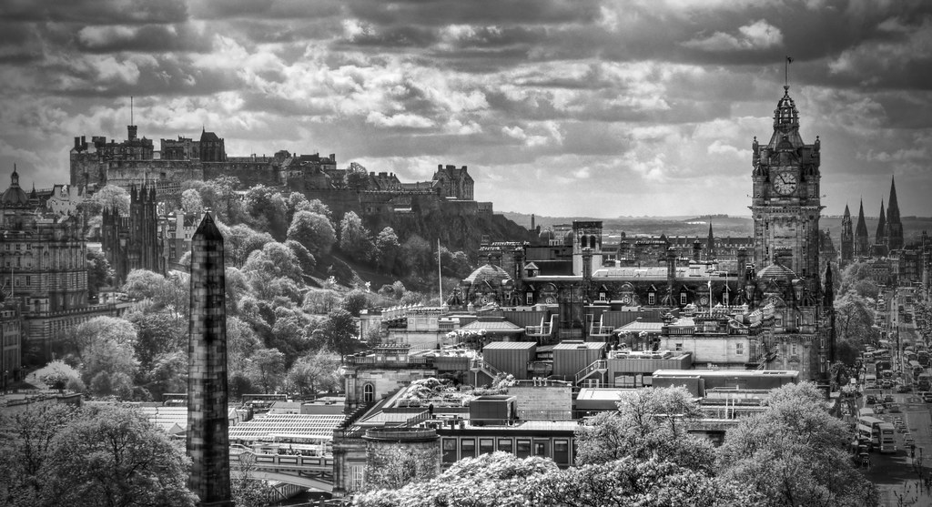 Classic Edinburgh In Black And White  Title Says It All