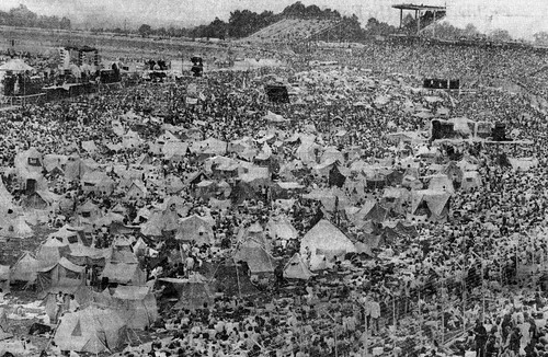 View Of Crowd At The August Jam In 1974 Taken By Phil