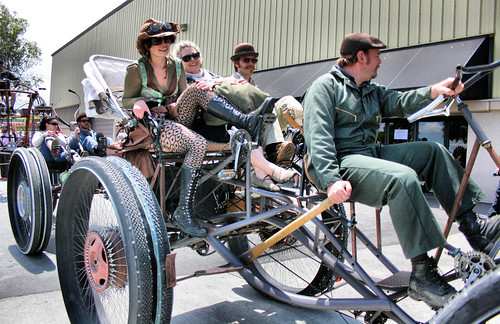 Pedal Powered Steampunk | by Richard Masoner / Cyclelicious