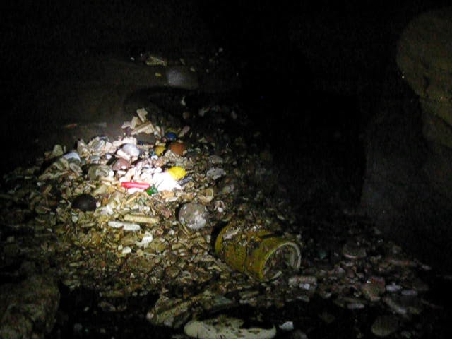 Sump in Trash Compactor Cave, Cookeville, TN