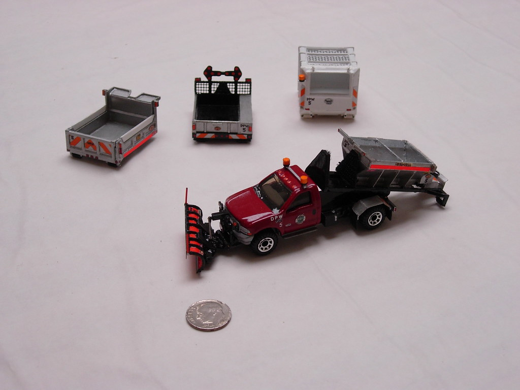 Matchbox Ford F-550 Hooklift Truck | A custom-built ...