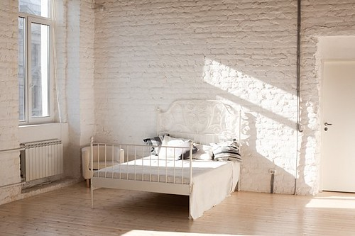 Our bed | by Monochrome Loft