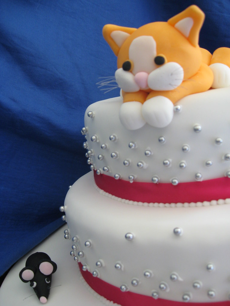 Kittens Birthday Cake Kitten Cat Cake | by The