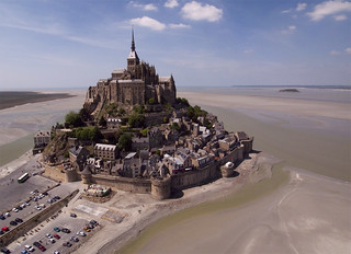 Mont Saint Michel - Normandy, France | by Evan Reinheimer - Kite Aerial Photography
