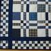 Checkerboard Squares Graduation quilt