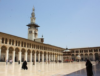 Minaret of the Bride, Umayyad Mosque, Damascus. | by jemasmith