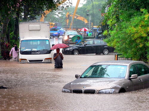 Road Flood, Singapore