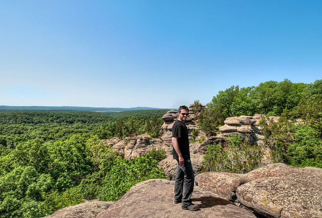 Atop The World Garden Of The Gods Shawnee National Forest Illinois Flickr Photo Sharing