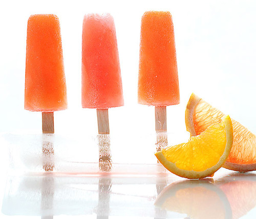 Campari Citrus Popsicles | by mutineermagazine
